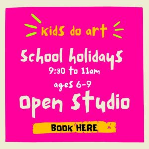Kids Do Art School Holidays – ages 6 -9