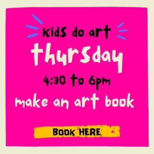 Kids Do Art – Make an Art Book