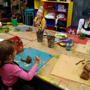 Kids Do Art After School Club Clay Day