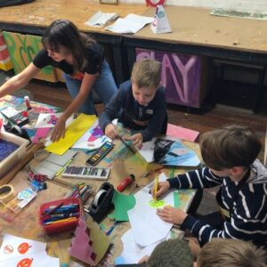 Kids Do Art Saturdays