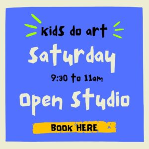Kids Do Art Open Studio