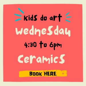 Kids Do Art – Ceramics Term 2 2021
