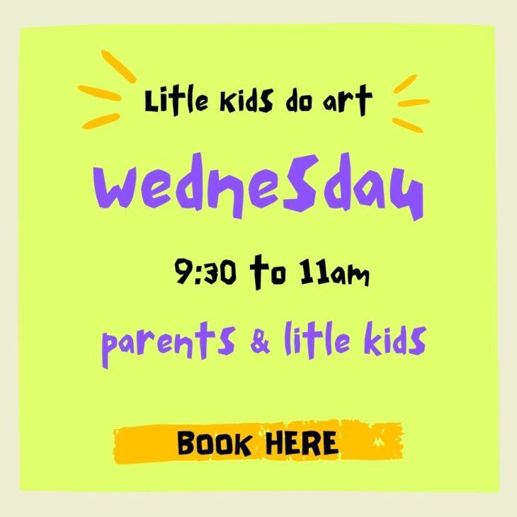 Little Kids Do Art – Term 2 2021
