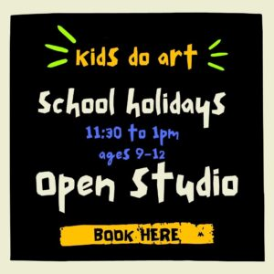 Kids Do Art School Holidays – ages 9-12
