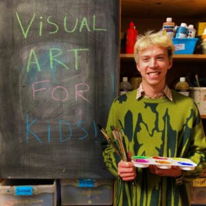 Visual Art for Children on Saturdays